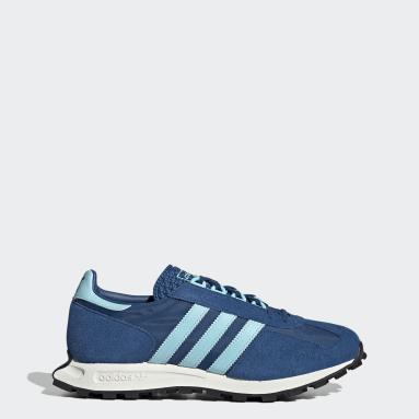 Men Originals Blue Racing 1 Shoes
