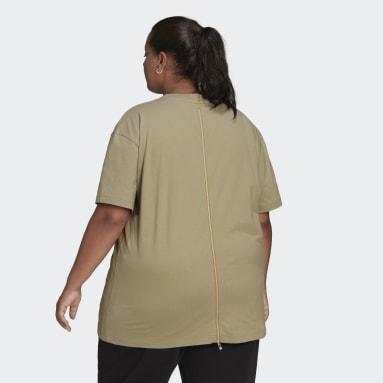 Women Originals Green Short Sleeve T-Shirt