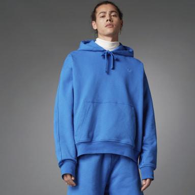 Muži Originals modrá Mikina Blue Version Essentials