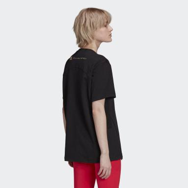 Kvinder adidas by Stella McCartney Sort adidas by Stella McCartney Cotton T-shirt
