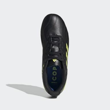 Children Soccer Black Copa Sense.4 Flexible Ground Cleats