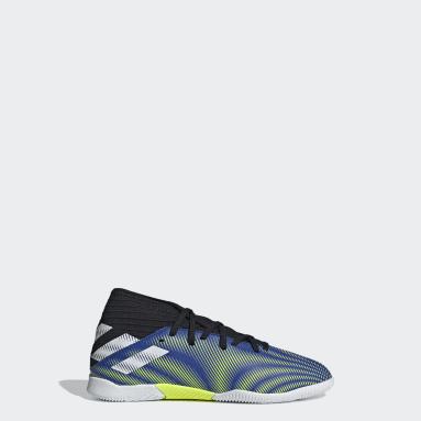 Kids Futsal Blue Nemeziz.3 Indoor Boots