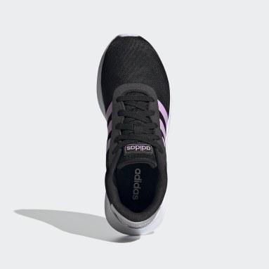 Zapatillas Lite Racer 2.0 Negro Mujer Diseño Deportivo