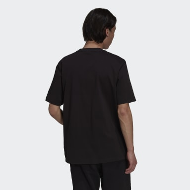 Men Originals Black adidas Adventure Futura Pocket T-Shirt