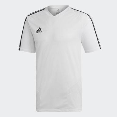 Camiseta entrenamiento Tiro 19 Blanco Hombre Gimnasio Y Entrenamiento