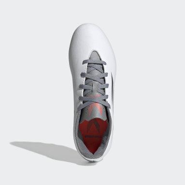 Kids Football White X Speedflow.4 Flexible Ground Boots