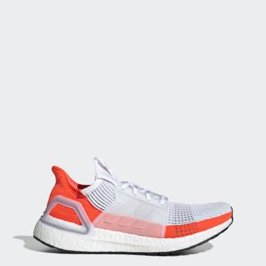 Men Running White Ultraboost 19 Shoes