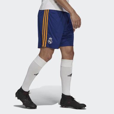 Fotbal modrá Venkovní šortky Real Madrid 21/22