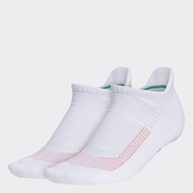 Women's Running White Superlite UB21 Tabbed No-Show Socks 2 Pairs