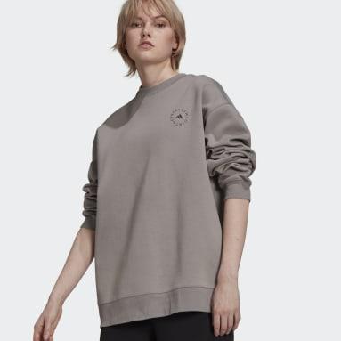 Kvinder adidas by Stella McCartney Grå adidas by Stella McCartney SC sweatshirt