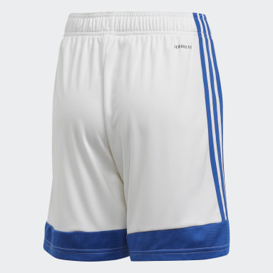 Pantalón corto Tastigo 19 Blanco Niño Fútbol