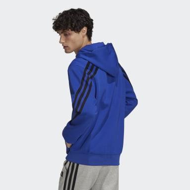 Men's Sportswear Blue adidas Sportswear Future Icons 3-Stripes Hoodie