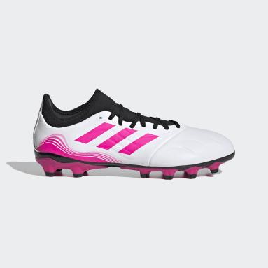 Football White Copa Sense.3 Multi Ground Boots
