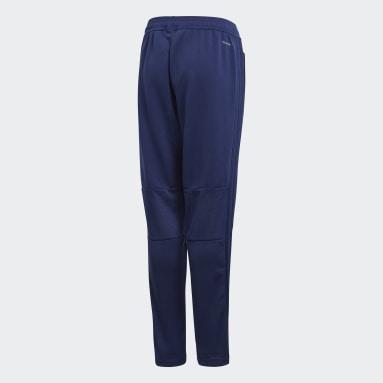 Pantalón entrenamiento Condivo 18 Azul Niño Gimnasio Y Entrenamiento