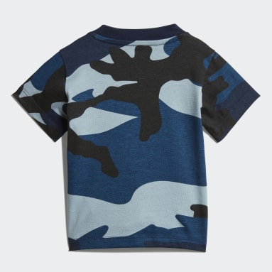 Playera Camouflage Multicolor Niño Originals