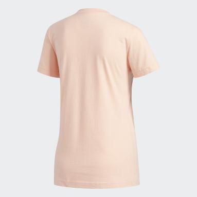 Women's Essentials Pink Badge of Sport Tee