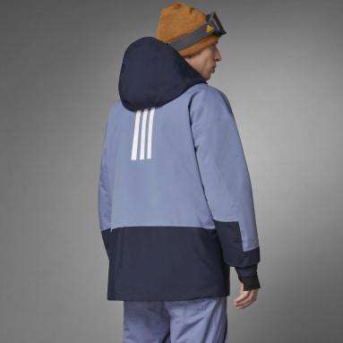 Mænd Vintersport Lilla Terrex MYSHELTER Snow 2-Layer Insulated jakke