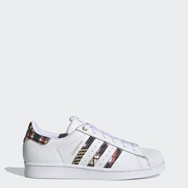 Women Originals White HER Studio London Superstar Shoes