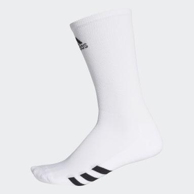 Golf White Golf Crew Socks 3 Pairs