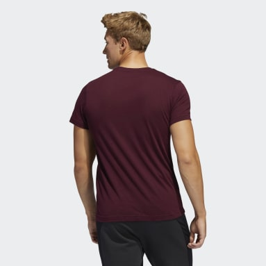 Men's Hockey Red Avalanche Blended Tee