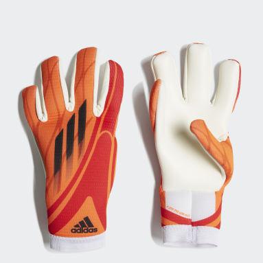 Děti Fotbal oranžová Rukavice X Training