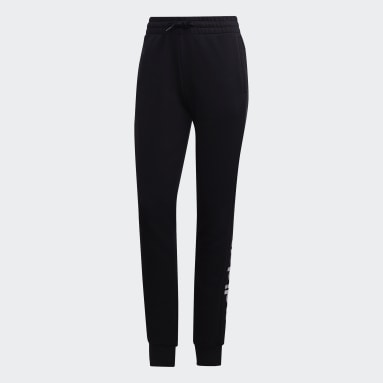 Frauen Sportswear Essentials Linear Hose Schwarz