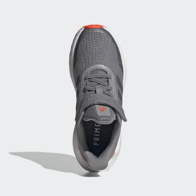 Kids 4-8 Years Running Grey EQ21 Run Shoes