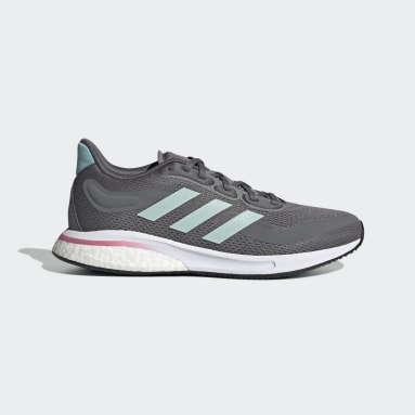 Women Running Grey Supernova Shoes
