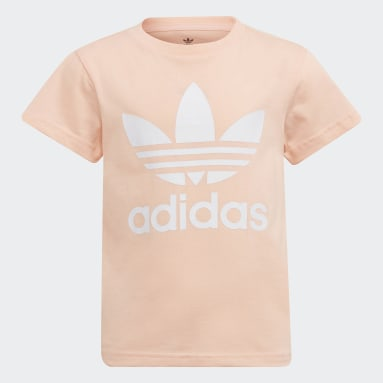 Kinderen Originals Roze Adicolor Trefoil T-shirt
