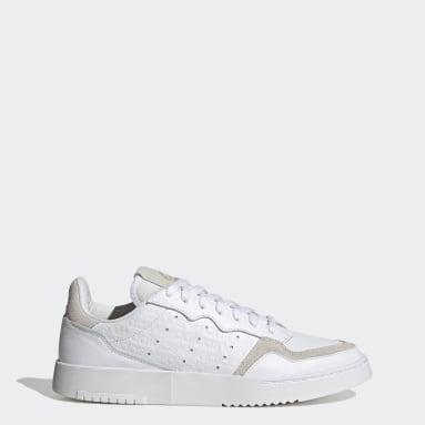 Originals สีขาว รองเท้า Supercourt