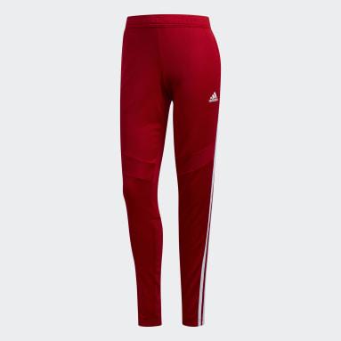 Frauen Fußball Tiro 19 Trainingshose Rot