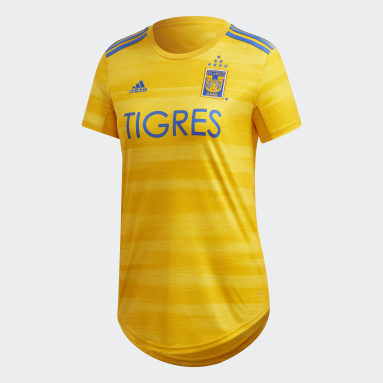 Jersey Titular Tigres UANL Amarillo Mujer Fútbol