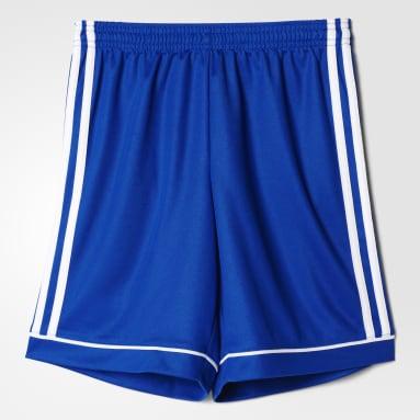 Short Squadra 17 Blu Ragazzo Fitness & Training