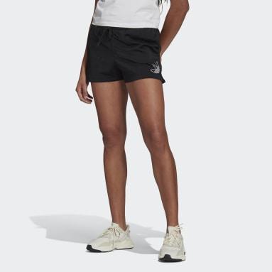 ผู้หญิง Originals สีดำ กางเกงขาสั้น
