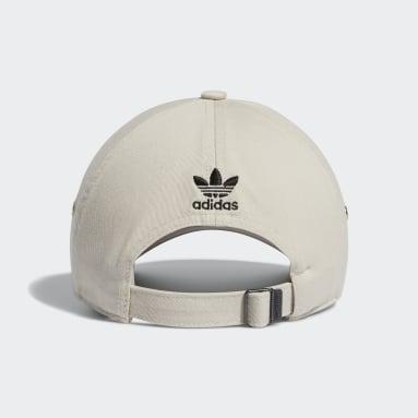 Women's Originals Beige Relaxed Mini Logo Hat
