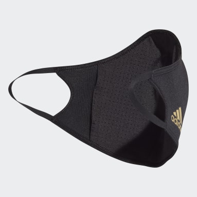 Lifestyle Black Juventus Face Covers 3-Pack XS/S