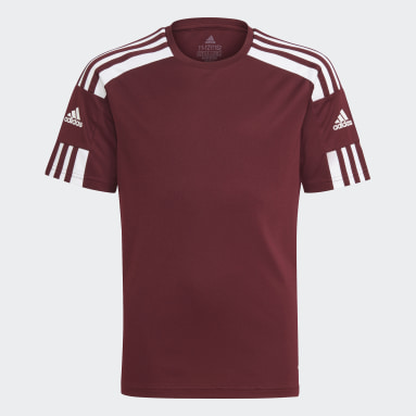 Youth 8-16 Years Football Red Squadra 21 Jersey