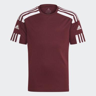 Boys Fotboll Röd Squadra 21 Jersey