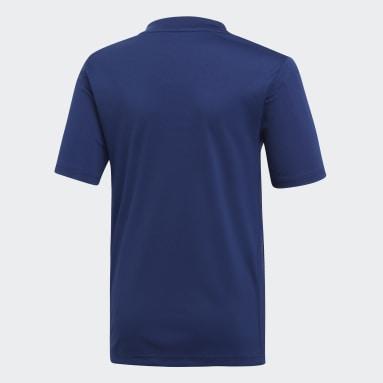 Maillot Striped 19 Bleu Garçons Fitness Et Training