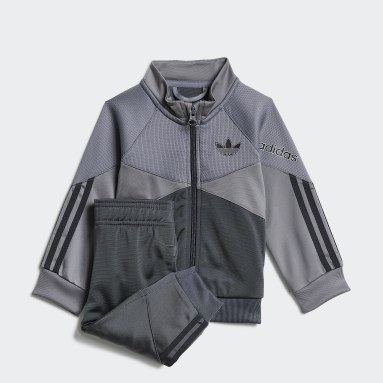 Infant & Toddler Originals Grey adidas SPRT Collection Track Suit