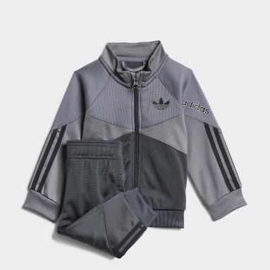 Kids Originals Grey adidas SPRT Tracksuit
