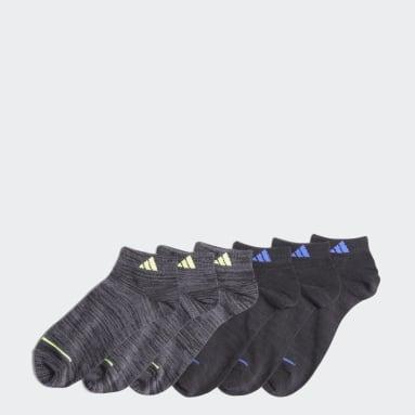Children Training Multicolor Superlite Low-Cut Socks 6 Pairs