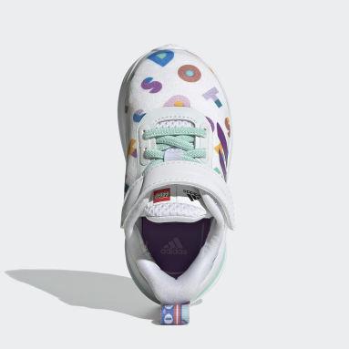 Scarpe adidas FortaRun x LEGO® DOTS™ Bianco Bambini Running