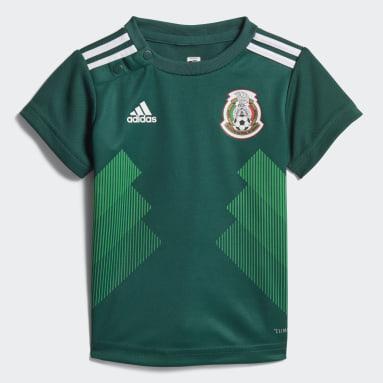 Kit Mexico Home Mini (UNISEX) Verde Niño Fútbol
