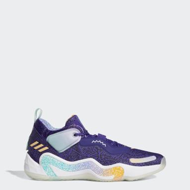 фиолетовый Баскетбольные кроссовки Donovan Mitchell D.O.N. Issue #3