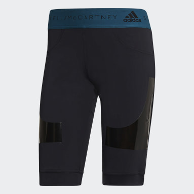 Women adidas by Stella McCartney Black Hybrid Shorts