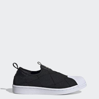 Dames Originals Zwart Superstar Slip-on Schoenen