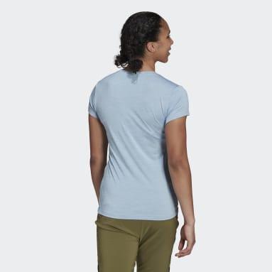 Kvinder TERREX Blå Terrex Tivid T-shirt