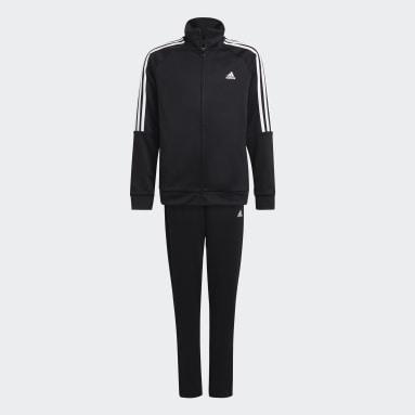 Boys Football Black Sereno Track Suit