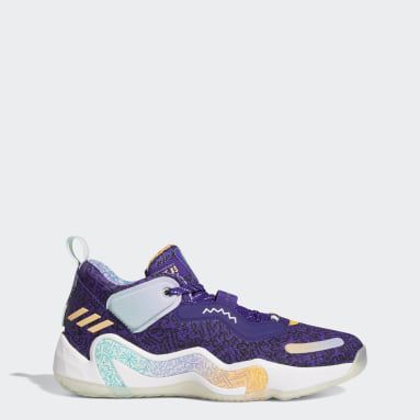 Basketball Purple D.O.N. Issue #3: Playground Hoops Shoes